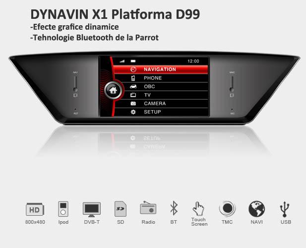 navigatie auto cu gps dynavin bmw X1