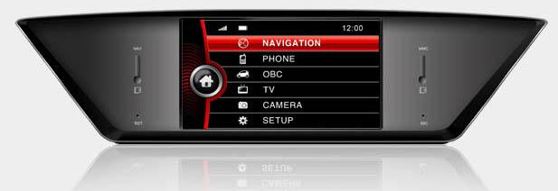 ecran tactil gps auto dynavin bmw X1